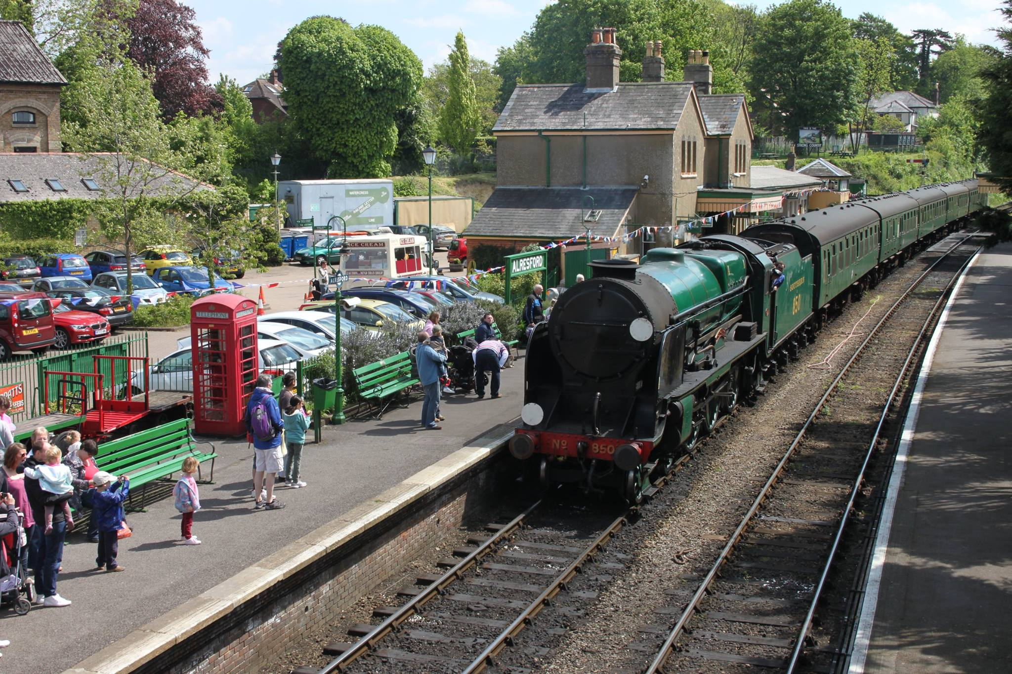 7th May 2015 Visit To The Mid Hants Railway Watercress
